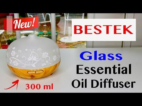 😍 BESTEK   ❤️ Essential Oil Diffuser  - Review (New) 2018  ✅