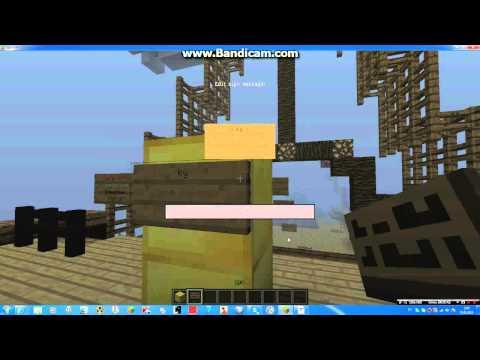 как сделать летаюшии таблички в minecraft сервере #10