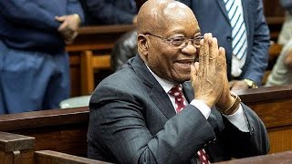 South Africa's ruling party nominates Zuma for legislative poll
