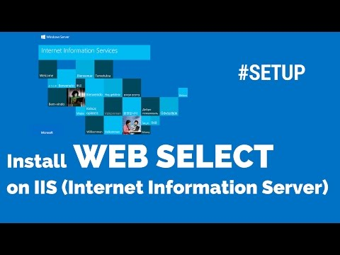 #SETUP How to install ISAPI application like webselect in internet information server (IIS)