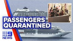Coronavirus: Cruise ship passengers quarantined in Sydney hotel | Nine News Australia