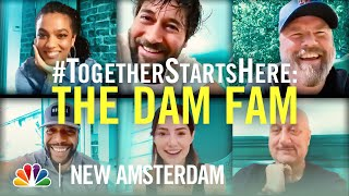 The New Amsterdam Cast Catches Up on Zoom