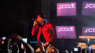 J Cole - Looking For Trouble (Live) Intro