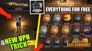 New VPN Trick get Classic u0026 Premium Crate Coupons in Pubg Mobile KR Version | get Legendary Outfit