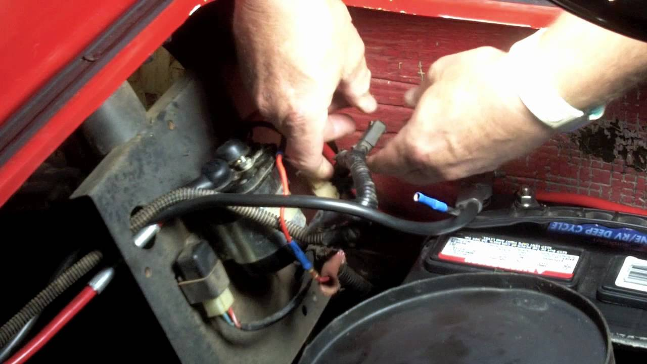 maxresdefault yamaha gas golf cart repair youtube golf cart solenoid wiring diagram at mifinder.co