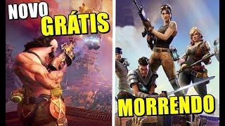 NOVO JOGO GRÁTIS PS4, XONE / BATTLE ROYALE MORRENDO ?!
