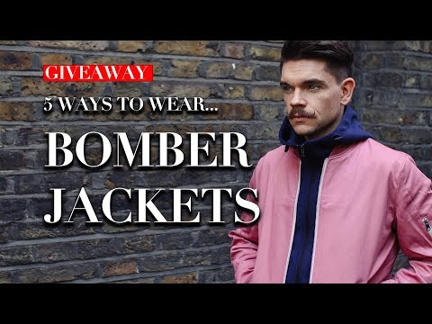 Men's Bomber Jackets | How To Wear Lookbook | Trend Tested