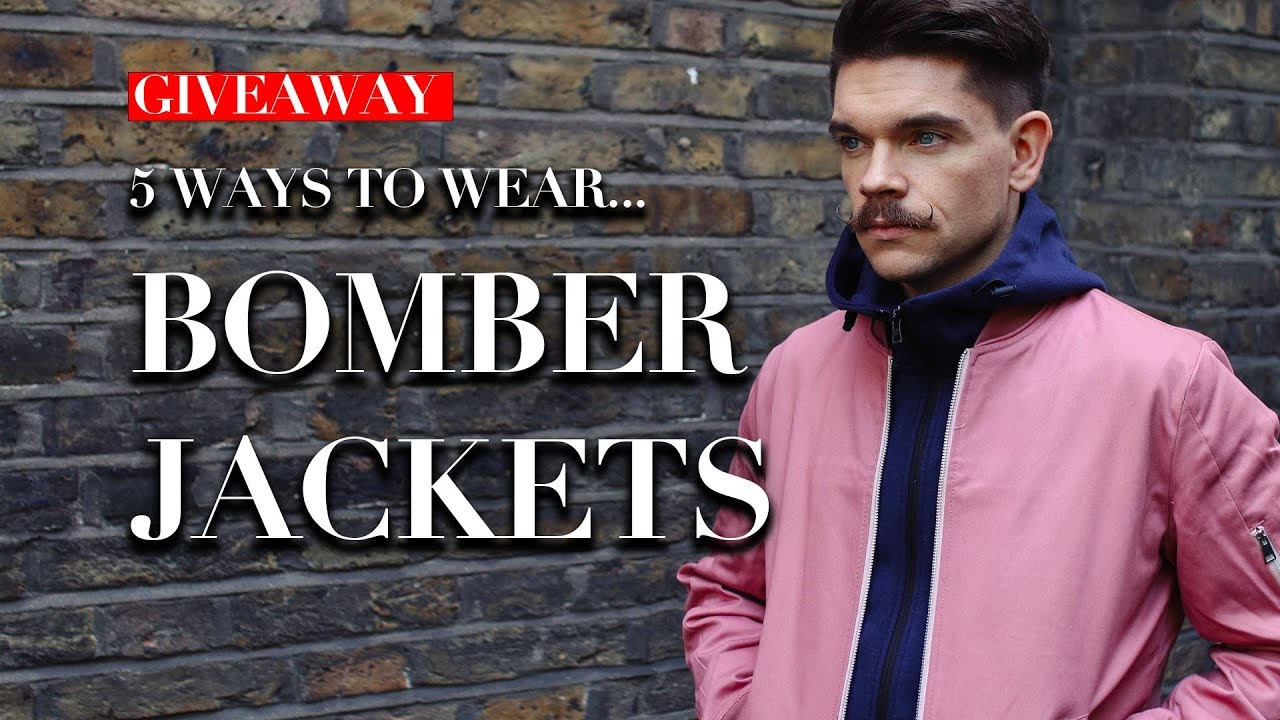 618c8b2f9 Men's Bomber Jackets | How To Wear Lookbook | Trend Tested