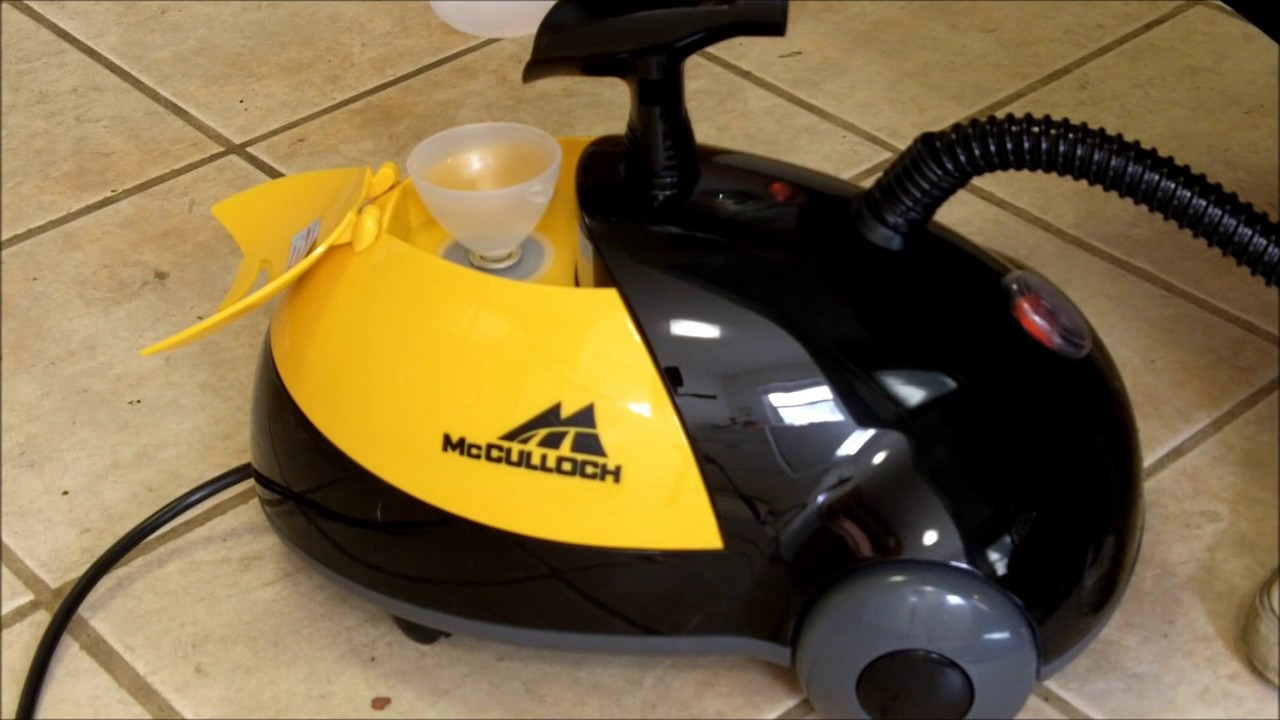 Mcculloch Mc 1275 Heavy Duty Steam Cleaner Review Unboxing Youtube