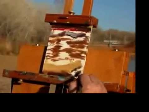 Landscape Painting at the Rio Grande – Josh Lance