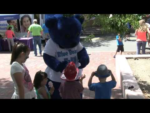 Blue Cross and Blue Shield of New Mexico Health and Wellness Ambassador Blue Bear