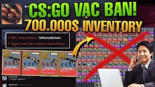 700.000$ CS:GO INVENTORY VAC BANNED! Let's Overwatch #65