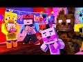 Minecraft FNAF 6 Pizzeria Simulator - BUYING ROCKSTAR CHICA! (Minecraft Roleplay)