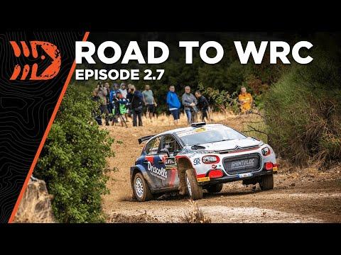 Road To WRC: Acropolis Rally Greece 2021 - Ep. 2.7