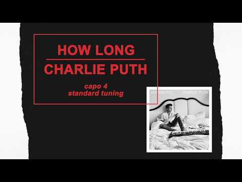 charlie puth how long lyrics and chords