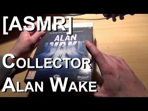 [ASMR] Découverte du collector d'Alan Wake |