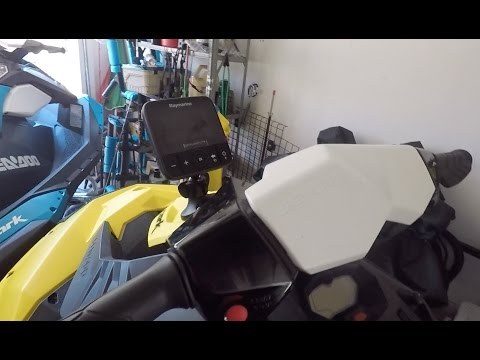 How To Install A Fish Finder On A Jet Ski - Sea Doo Spark
