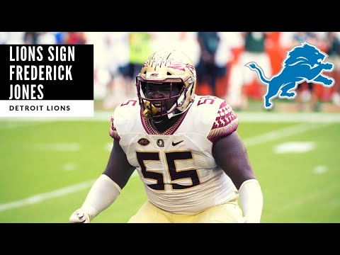 Detroit Lions SIGN Frederick Jones! BREAKING NEWS: Detroit Lions Talk