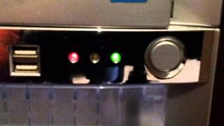 Problème de demarrage - Voyants du PC qui clignotent