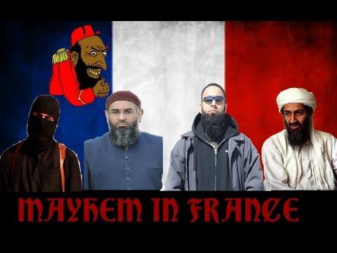 Paris Terrorist Attack: Mayhem In France