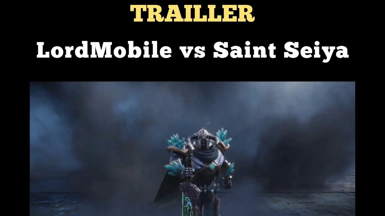 Colaboración Lords Mobile vs Saint Seiya