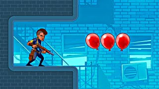 STUPID ZOMBIES 4 - Balloons Missions - Level 1-20 Gameplay - (Android iOS) screenshot 5