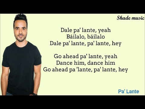 Alex Sensation, Anitta, Luis Fonsi – Pa Lante (English and Spanish Lyrics)