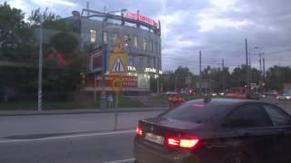 Москва, автобус 908, участок м. Профсоюзная - Библиотека имени Льва Толстого
