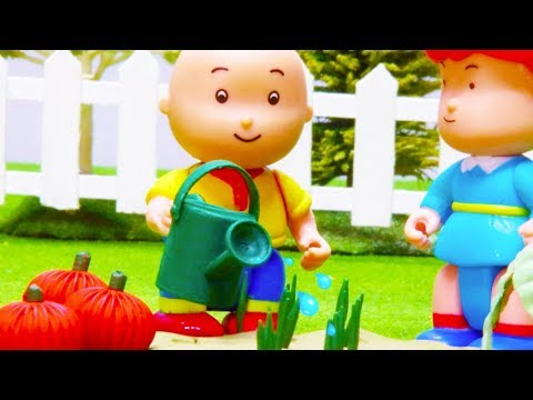 🍅-caillou-the-vegetable-farmer-🥕- -funny-animated-kids-show- -caillou-stop-motion