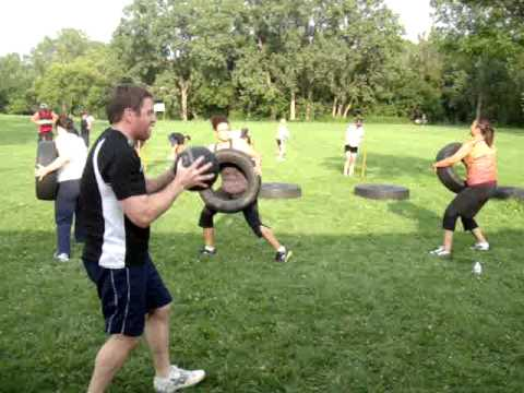 group fitness circuits  outdoor training  youtube