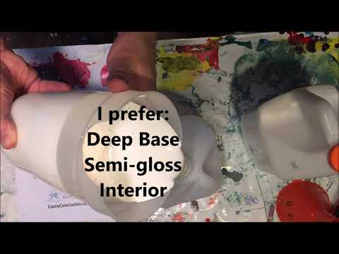 How to DIY make a Turbo Paint Mixer with hot melt glue and Zip Ties!