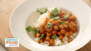 Curried Chickpeas for Dinner - Everyday Food with Sarah Carey