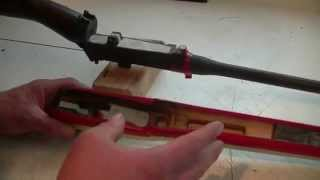 Lee Enfield No.4 Mk 1 rifle bedding tutorial and hunting.
