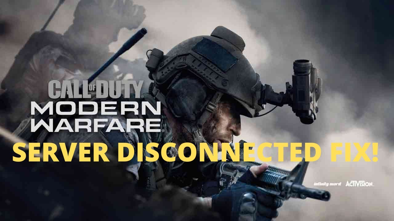 How To Fix Modern Warfare SERVER DISCONNECT & CRASHING After Update! (PC,  PS4 & XBOX) WORKING