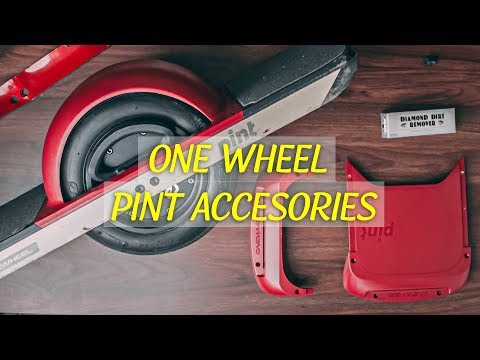 ONE WHEEL PINT - Accessories | Cleaning | New GoPro Pole!!!