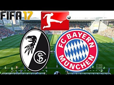 FIFA 17 - FC BAYERN MÜNCHEN vs. SC FREIBURG | 17.SPIELTAG ◄FCB #35►