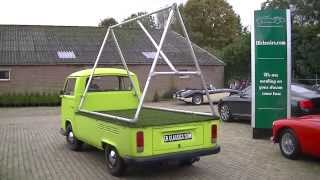 VW T2 Pick Up 1971 with aluminium frame-VIDEO- www.ERclassics.com