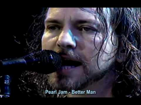 Pearl Jam - Better Man (legend PORT + INGLÊS) Chile '05