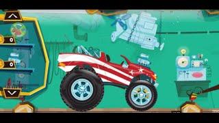 Мультики про машинки. Монстер трак. Ігри гонки онлайн. Cartoon of cars. Monster truck. Racing Games