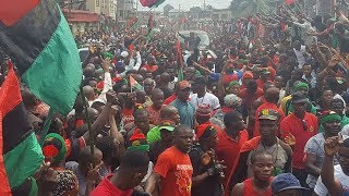 RADIO BIAFRA LONDON : LIVE FROM ABA, TODAY IPOB MEMBERS IN ABA