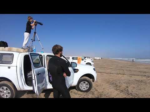 Namibia Travel  Video ( Skeleton Bay)
