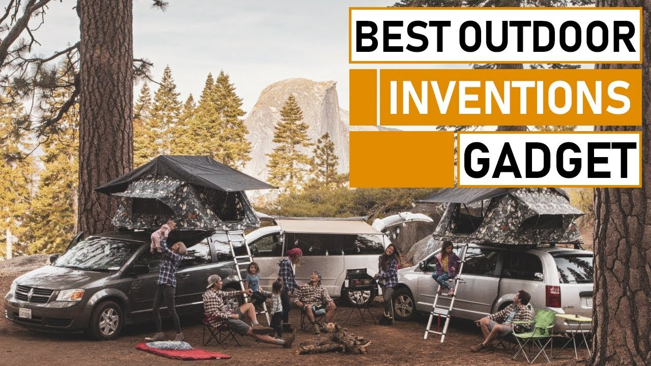 Top 5 Amazing Outdoor Gear & Gadget Inventions