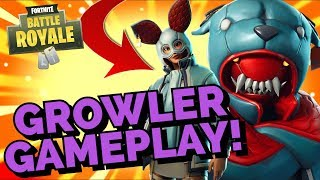 The New GROWLER SKIN Gameplay In Fortnite Battle Royale
