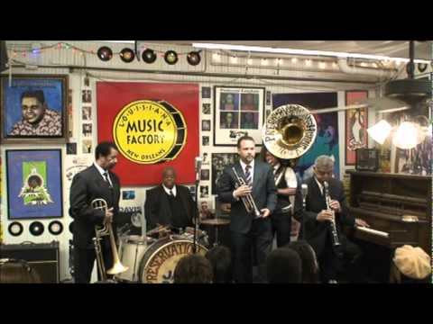 Preservation Hall Jazz Band @ Louisiana Music Factory 20th Anniversary