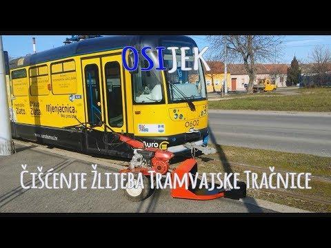 Tramvaj Osijek Čišćenje Pruge (Honda F 560)