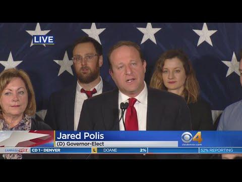 WATCH: Jared Polis Acceptance Speech