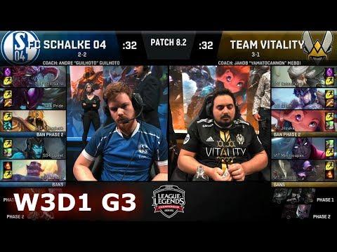 FC Schalke 04 vs ROCCAT | Week 3 Day 1 of S8 EU LCS Spring 2018 | S04 vs VIT W3D1 G3