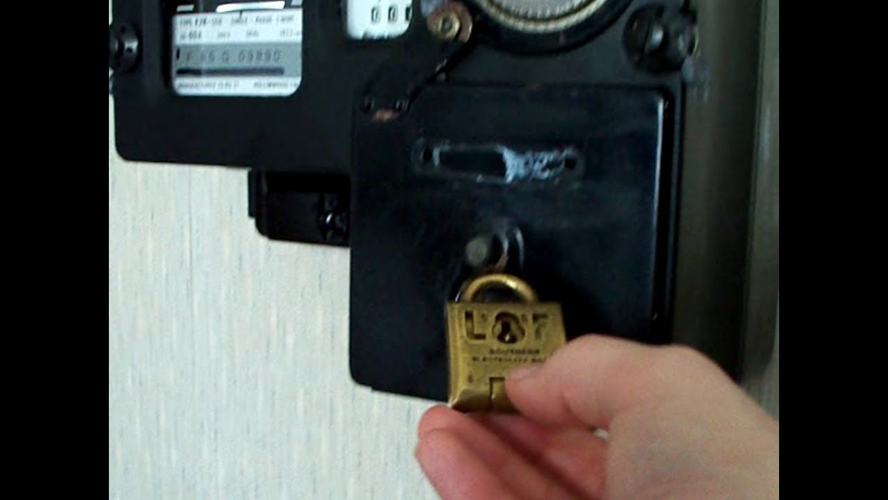 Electricity Coin Meter : Electricity meter padlock for coin operated prepayment