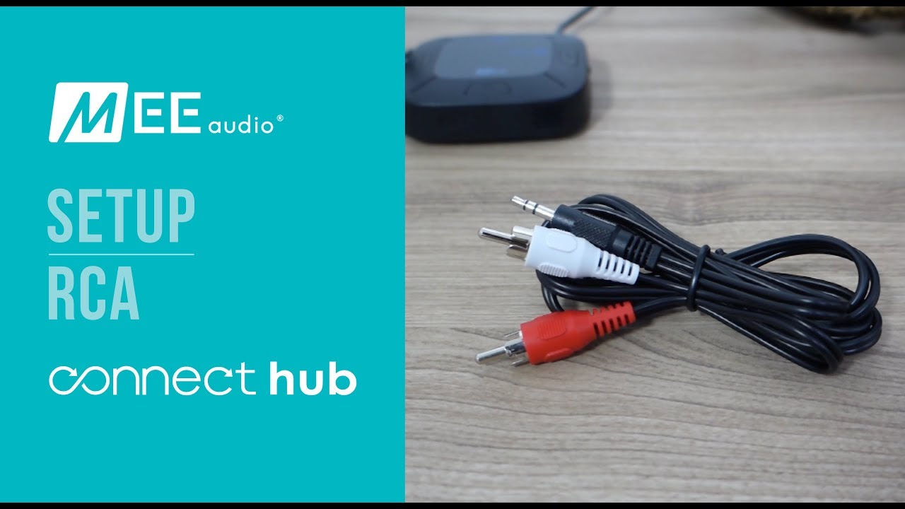 MEE audio Connect Hub | Completing setup using RCA - YouTube