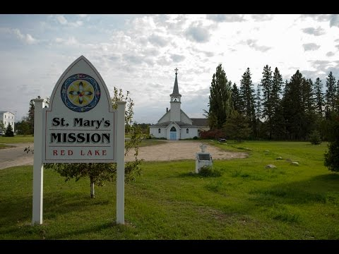 St. Mary's Mission School on Red Lake Reservation